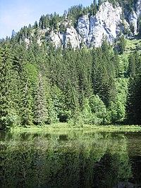 Lac de Pététoz à Bellevaux
