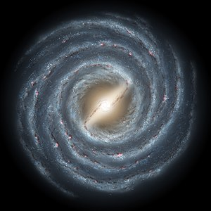 Much of the rest of the Milky Way Galaxy remai...