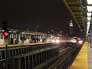 46th Street – Bliss Street station in Queens w...