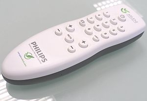 English: Batteryless TV remote control from Ph...