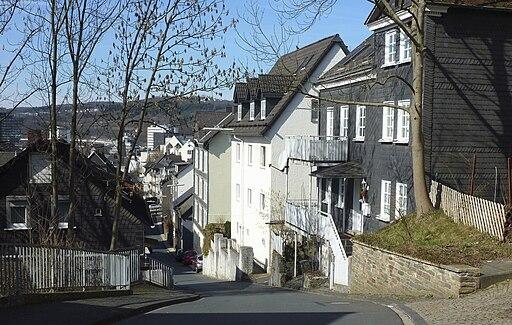 SI-Altstadt Hainstrasse von Osten