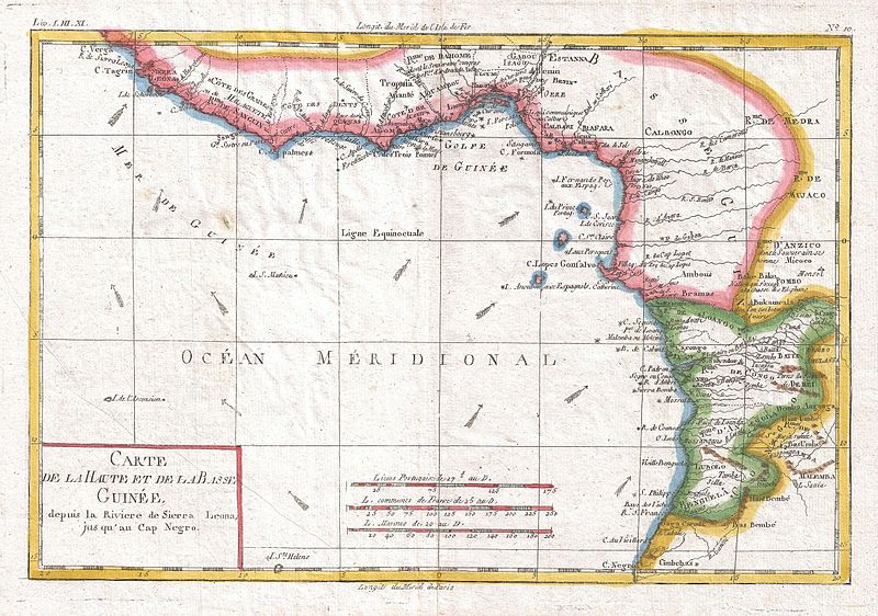 Geographic Ivory Coast Location