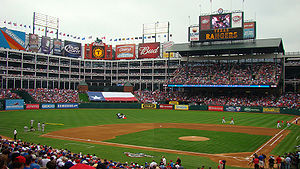 The Rangers Ballpark in Arlington opening day ...
