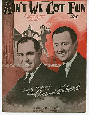 """Ain't We Got Fun"" (sheet music) pag..."