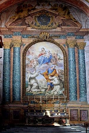 English: Interier of Basilica Santa Maria degl...