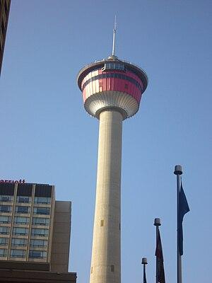Calgary Tower, Calgary, Alberta, Canada