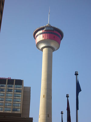 English: Calgary Tower, Calgary, Alberta, Canada
