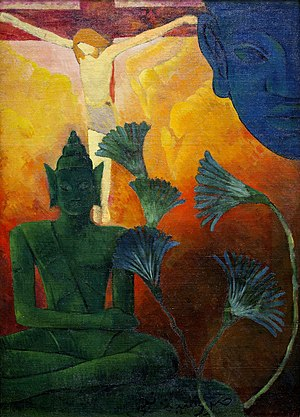 English: Christ_and_Buddha_by_Paul_Ranson