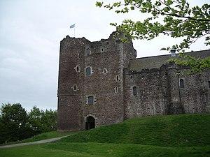 English: Doune Castle: Late c14 Stewart strong...