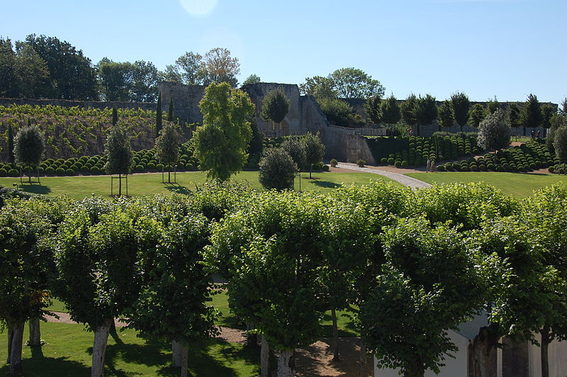 Gardens at Chateau d'Amboise