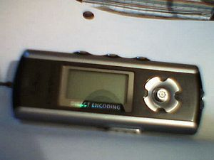 Iriver iFP-799 MP3 player.