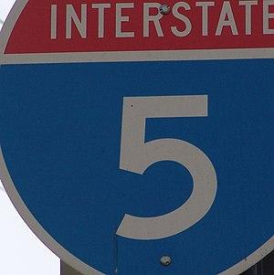 5. An Interstate highway on-ramp sign. Scott R...