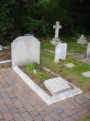 Deutsch: Grab von T. E. Lawrence