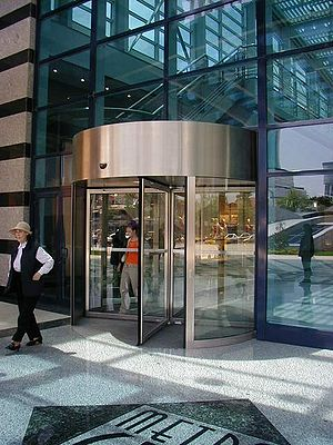 A revolving door in Turkey (counter-clockwise ...