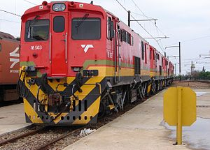 English: Spoornet Class 18E Series 1 18-503