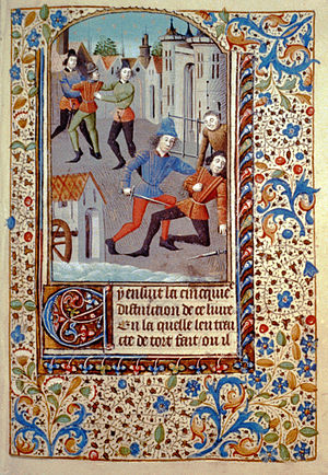 English: Law and legal affairs in 15th century...