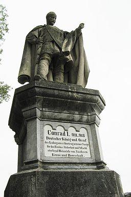 Villmar - Koenig Konrad Denkmal 2