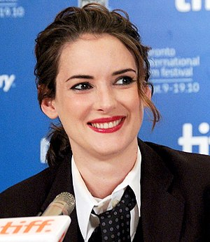 English: Actress Winona Ryder at the 2010 Toro...