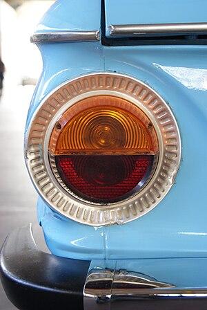English: ZAZ-966 Tail light.