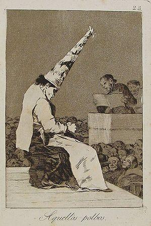 Capricho nº 23: Aquellos polvos de Goya, serie...