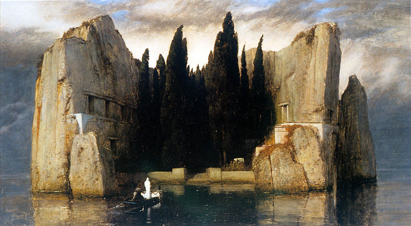 File:Arnold Boecklin - Island of the Dead, Third Version.JPG