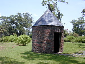 Smoke house at Boone Hall Plantation