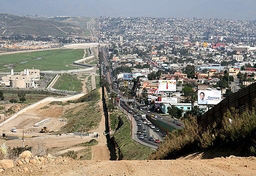 Border USA Mexico
