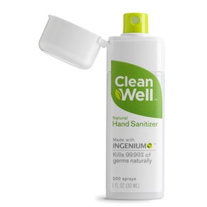 CleanWell is the only hand sanitizer that is a...