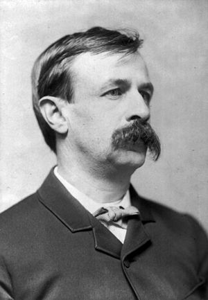 Photographic portrait of Edward Bellamy, Ameri...