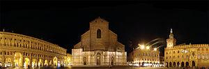 English: Piazza Maggiore, Bologna, Emilia-Roma...