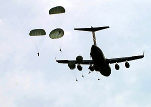 Paratroopers of the 1st Battalion, 508th Parac...