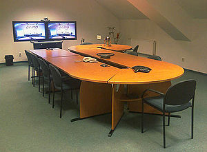 Gesto Communications videoconferencing room