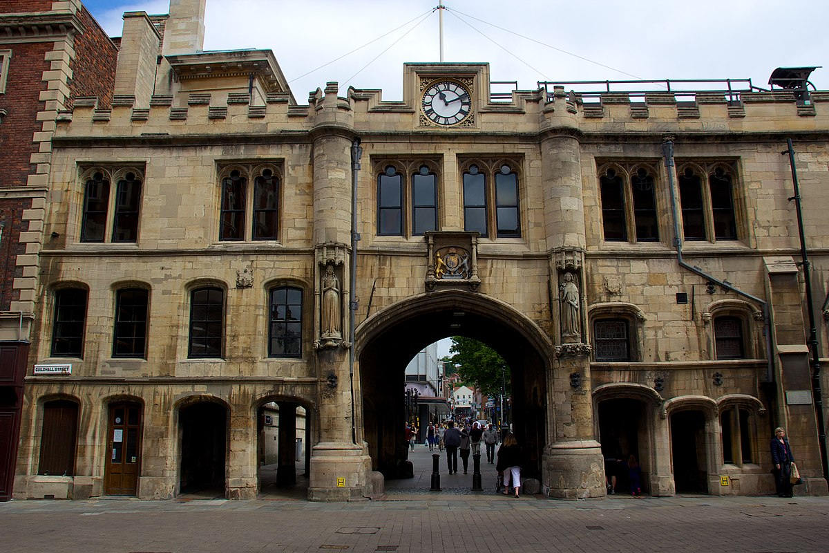 Guildhall And Stonebow Lincoln Wikipedia