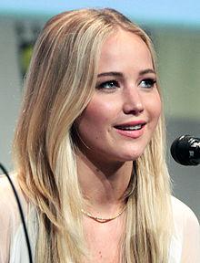 A Photograph Of Actress Jennifer Lawrence At The  Sango Comic Con International