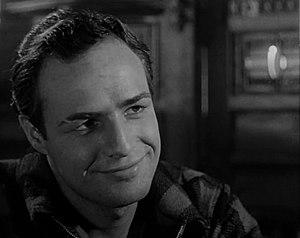 Marlon Brando in a screenshot from the trailer...