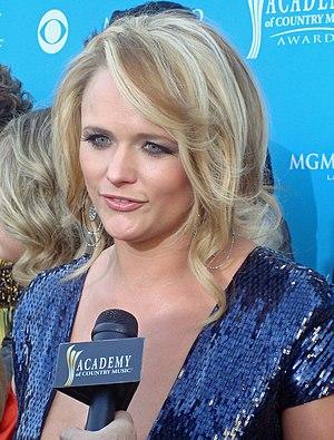 Miranda Lambert at the 45th Annual Academy of ...