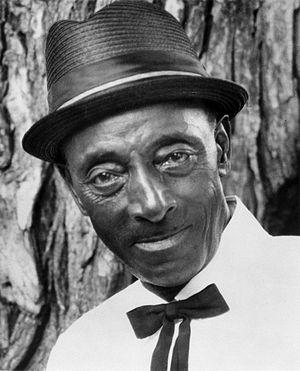 Black and white portrait, Mississippi Fred McD...