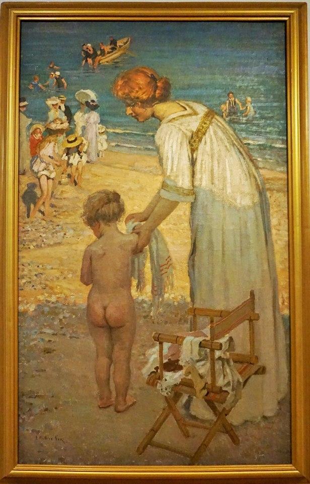 """Bathing Hour"" (L'Heure du Bain) by E Phillips Fox"