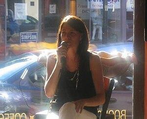 This photo is of Sarah Cunningham, American au...