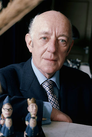 English: Sir Alec Guinness portrait