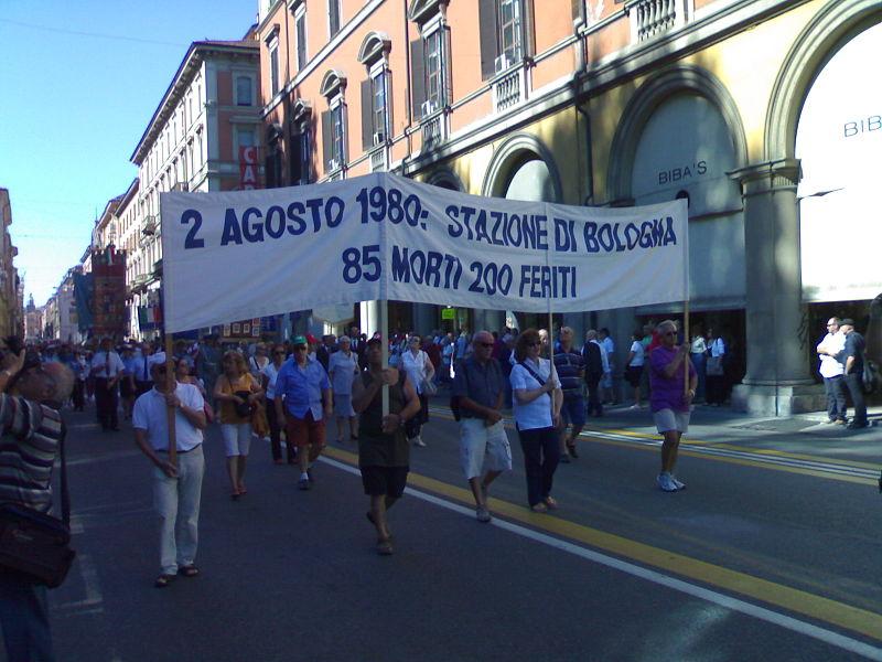 Manifestazione per il trentennale della strage