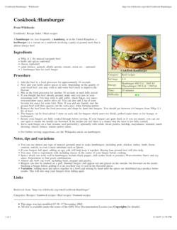 Recipe - Wikipedia, the free encyclopedia