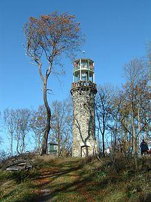 Bilsteinturm auf dem Bilstein (641,2 m) im Kaufunger Wald