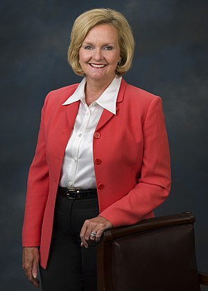 English: Claire McCaskill, member of the Unite...