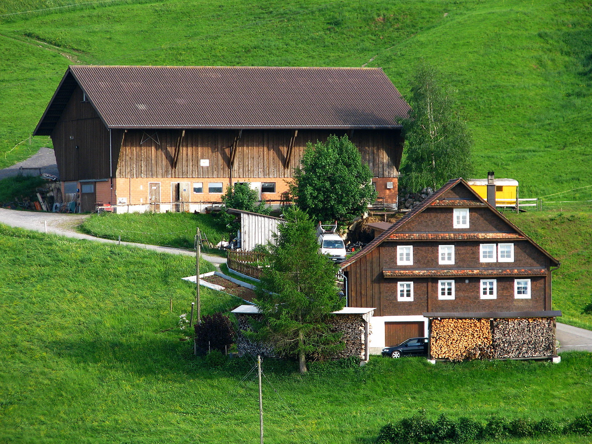 Farmhouse Wikipedia