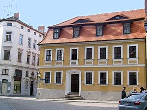 Halle an der Saale, Geburtshaus von Georg Frie...