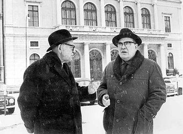 Harry Hjörne och Torsten Henriksson