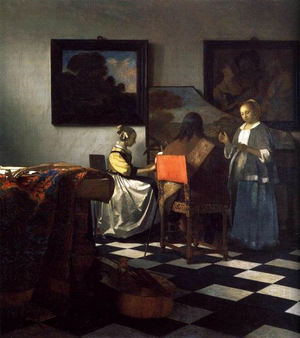 Johannes Vermeer - The Concert