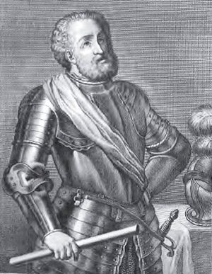 Retrato de Rodrigo Díaz de Vivar, el Cid Campe...