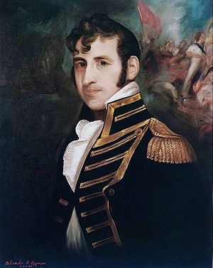 Portrait (oil painting) of Stephen Decatur